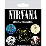 Nirvana spille, multicolore, 10x 12.5cm