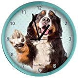 Berner Sennehund Wanduhr Bernese Mountaindog Watch