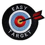 ecusson cible drapeau france target sniper tireur d elite thermocollant 8,5cm patche badge