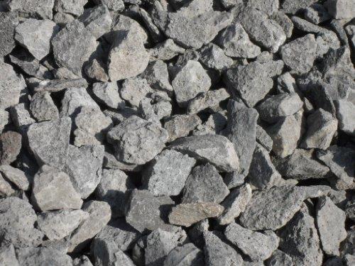 Der Naturstein Garten 75 kg Anthrazit Basaltsplitt 16-32 mm - Basalt Splitt Edelsplitt Lava Lavastein - LIEFERUNG KOSTENLOS