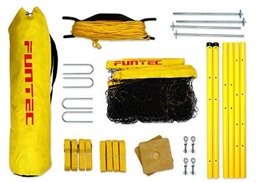 Funtec Fun Sports Set – Beachvolleyball- und Multisport-Set