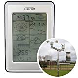 ClimeMET CM2000 Professional Wireless Weather Station Includes FREE Easy Weather Computer Software.