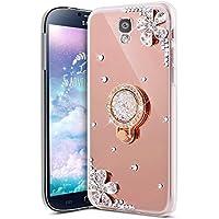 Galaxy S5 Hülle,Galaxy S5 Schutzhülle,KunyFond Glitzer Silikon Spiegel Hülle Bling Glänzend Glitter Diamant Strass... preisvergleich bei billige-tabletten.eu