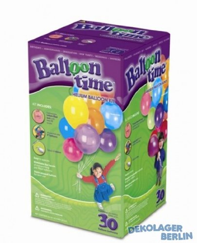 Bouteille Hélium Jetable kit 30 ballons