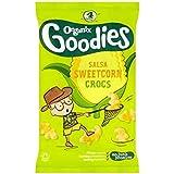 Organix Goodies Maïs Doux Salsa Crocs Snappy Organiques Pour Les Tout-Petits De 12 Mois Et 4 X 15G - Lot De 2