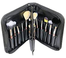 PBB,20pcs makeup brush set, Face Foundation Brush, Eye Liner all in this Professional cosmetic kit, real hair brushes & synthetic fiber brushes & combination of both Plus a Non-Latex Beauty sponge.
