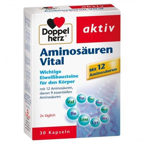 DOPPELHERZ Aminosäuren Vital Kapseln 30 St
