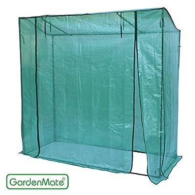 GardenMate® Großes Tomaten Gewächshaus 200 x 75 x 190/170 cm Foliengewächshaus von GardenMate® bei Du und dein Garten