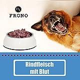 10kg * Rindfleisch mit Blut * Barf Paket 20x 500g Frostfutter, Hundefutter, Barfen, Barffleisch