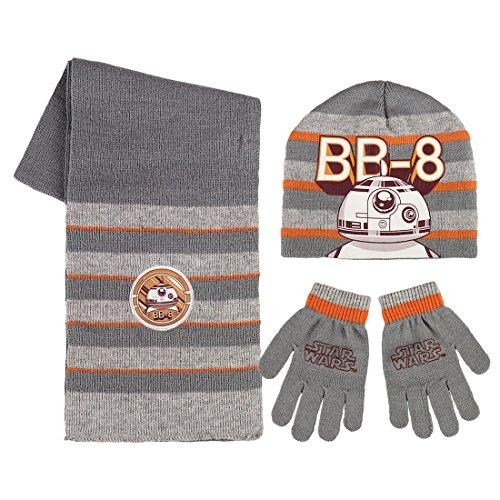 Nel cappello mese di settembre, i guanti e sciarpa BB-8 Star Wars