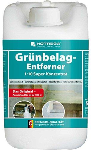 Hotrega H110803002 Grünbelag-Entferner Maxi-Pack, 2 L