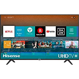 HISENSE TV LED Ultra HD 4K, HDR, Dolby DTS, Slim Design