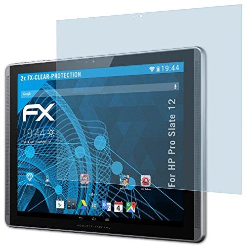 atFolix Schutzfolie kompatibel mit HP Pro Slate 12 Folie, ultraklare FX Bildschirmschutzfolie (2X)