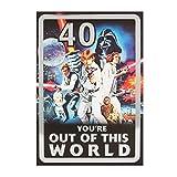 Hallmark Star Wars zum 40. Geburtstag Karte