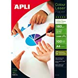 Image of Apli Laser Paper Glossy Double-sided 160gsm A4 Ref 11817 [100 Sheets] - Comparsion Tool