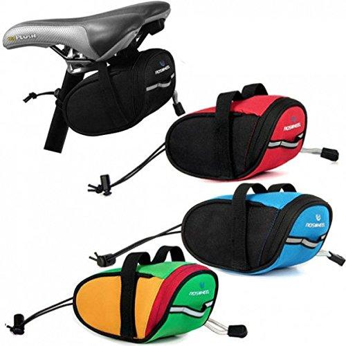 Moppi Radfahren Fahrrad Sattel Beutel Sitz Rack Pack Schwanz Pouch Rahmen Pannier