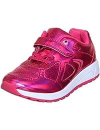 Clarks Girls Pink Sneakers
