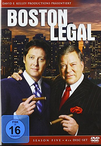 Boston Legal - Season Five [4 DVDs]