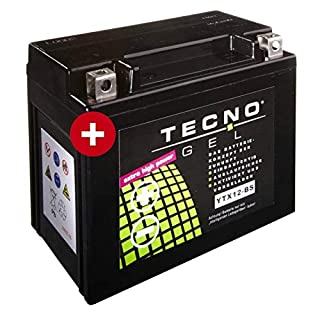 Tecno YTX12-BS Gel Batterie GSF 1200 S Bandit 1996-2005