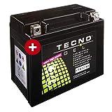 Tecno YTX12-BS Gel Batterie Hurricane 500 S 2008-2015