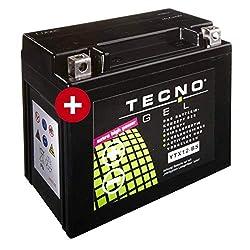 Tecno YTX12-BS Gel Batterie VZ 800 Marauder 1997-2003