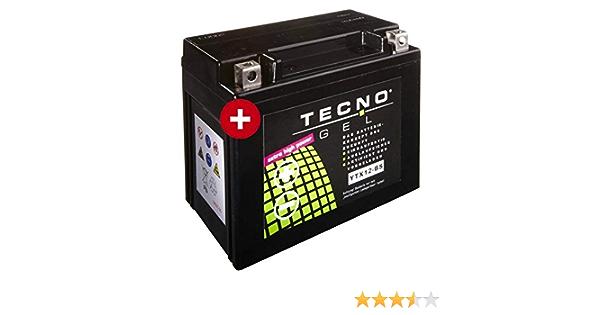Tecno Ytx12 Bs Gel Batterie Gts 300 I E Super 2010 2016 Auto