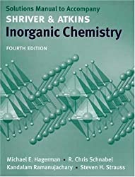 Inorganic Chemistry: Solutions Manual by Michael Hagerman (2006-08-18)