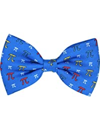 PI Symbol Blue Novelty Bow Tie