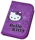 Scooli HKAZ0440 - Astuccio rigido, motivo: Hello Kitty, con cancelleria Stabilo, 30 pz