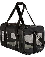 AmazonBasics Black Soft Sided Pet Carrier (Medium)