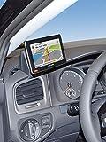 KUDA Navigationskonsole (LHD) für VW Golf 7 ab 11/2012 in Echtleder schwarz