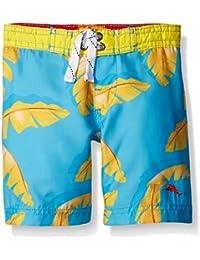Tommy Bahama Baby Boys' Infant Palm Tree Leaf Swim Trunks