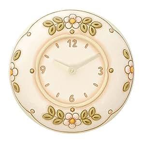 Thun fiori orologio da parete ceramica variopinto - Thun orologio parete ...