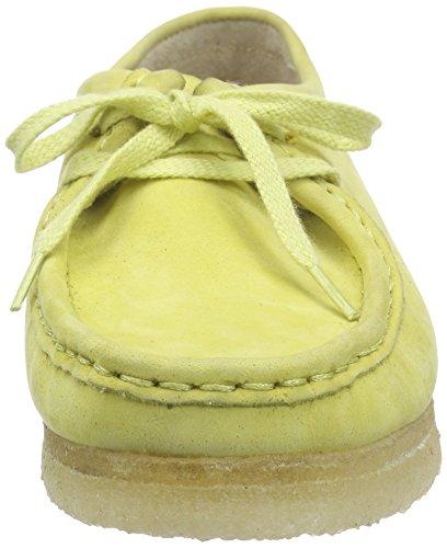 ClarksWallabee - Mocassini da donna Verde (Pale Lime)