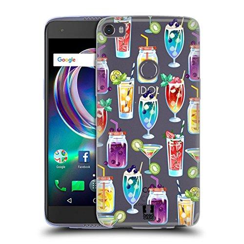 Head Case Designs Früchten Drink Sommer Suessigkeiten Sammlung Soft Gel Hülle für Alcatel Idol 5s 6060X