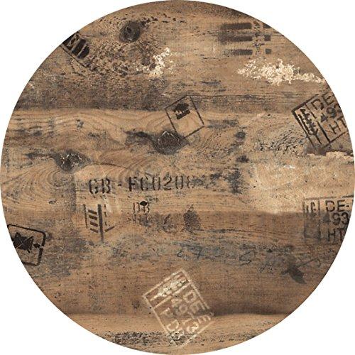 Werzalit / hochwertige Tischplatte / Ex works / runde Form 70 cm / Bistrotisch / Bistrotische / Gartentisch / Gastronomie