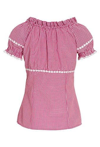 DISTLER Trachtenbluse in verschiedenen Designs Pink