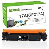 Aztech 1 Pack Toner (MIT CHIP) für HP 17A CF217A Toner Schwarz für HP Laserjet MFP M130NW MFP M130FW M130FN M130A M130 HP Laserjet M102W Laserjet M102A M102 HP M130FW HP M102w Printer