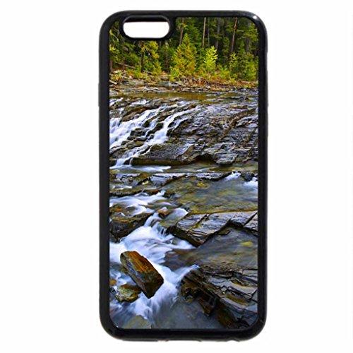 iPhone 6S / iPhone 6 Case (Black) McDonald Creek Glacier Nat'l. Park
