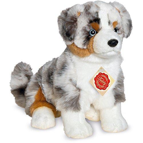 Teddy Hermann 919339 Australischer Schäferhund sitzend Plüsch, 30 cm