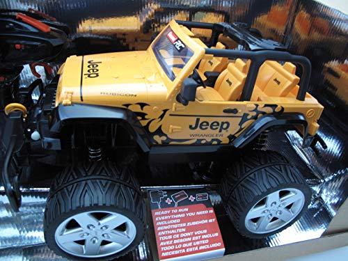 CARRERA RC Jeep(R) Wrangler Rubicon 2,4 GHz mit Seilwinde (2,5 KG Zugkraft)
