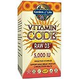 Garden of Life - Code Vitamine - D3 brut - 5000 UI - 60 capsules d'UltraZorbe