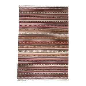 IKEA Tapis-KATTRUP flatwoven Rouge 140 x 200 cm Multicolore