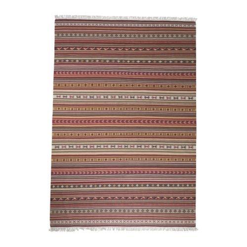 IKEA-KATTRUP--alfombra-flatwoven-rojo-multicolor--170-x-240-cm
