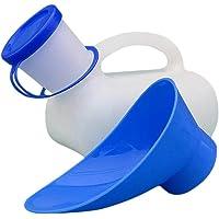 IrahdBowen Urinoir Homme et Femme Urinoir Unisexe pour Voiture 1000ML Portable Urinoir Voyage Réutilisable Bouteille Collector d'urine pour la Mobilité des Personnes âgées, Couleur Au Hasard