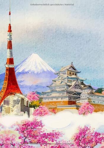 Japanisch Schreibheft: Kanjipapier katakana Hiragana zum selber eintragen Schreibheft kanji kana