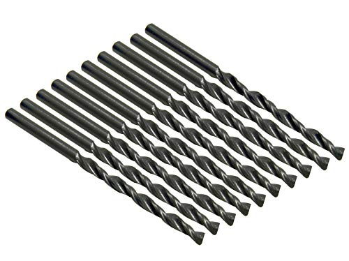 10 Stck. HSS Spiralbohrer 3mm 3,0 mm Bohrer rollgewalzt Metallbohrer Metall