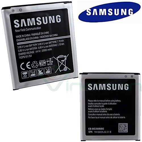 Bulk batería original Samsung para Galaxy Core Prime G360F y Galaxy J2J200F 2000mAh bg360bbe