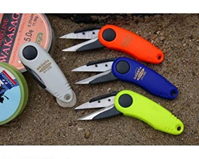 FOLDING, STEEL SHEARS and SCISSORS for PLASTIC FISHING LINE / SEWING / DIY / CORD / STRING by firetrappp