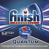 Finish Quantum, Spülmaschinentabs, XXL Pack, 52 Tabs -